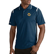 Antigua Men's Marquette Golden Eagles Merit Xtra-Lite White Polo