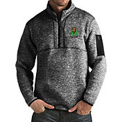 Antigua Men's Marshall Thundering Herd Black Fortune Pullover Jacket