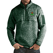 Antigua Men's Marshall Thundering Herd Green Fortune Pullover Jacket