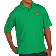 Antigua Men's Marshall Thundering Herd Green Pique Xtra-Lite Polo