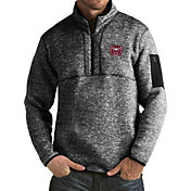 Antigua Men's Missouri State Bears Black Fortune Pullover Jacket