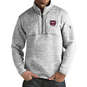 Antigua Men's Missouri State Bears Grey Fortune Pullover Jacket