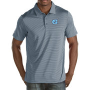 Antigua Men's North Carolina Tar Heels Grey Quest Polo