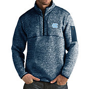 Antigua Men's North Carolina Tar Heels Carolina Blue Fortune Pullover Jacket