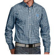 Antigua Men's North Carolina Tar Heels Carolina Blue Associate Button Down Long Sleeve Shirt