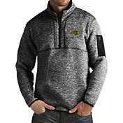 Antigua Men's North Dakota State Bison Black Fortune Pullover Jacket