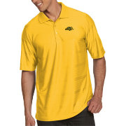Antigua Men's North Dakota State Bison Yellow Illusion Polo