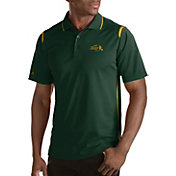 Antigua Men's North Dakota State Bison Merit Xtra-Lite Green Polo