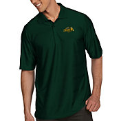 Antigua Men's North Dakota State Bison Green Illusion Polo