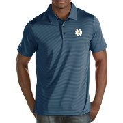 Antigua Men's Notre Dame Fighting Irish Navy Quest Polo