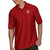 Antigua Men's Indiana Hoosiers Crimson Illusion Polo