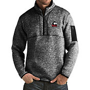 Antigua Men's Northern Illinois Huskies Black Fortune Pullover Jacket