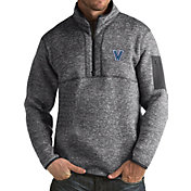 Antigua Men's Villanova Wildcats Grey Fortune Pullover Jacket