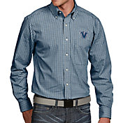Antigua Men's Villanova Wildcats Navy Associate Button Down Long Sleeve Shirt