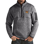 Antigua Men's Northern Iowa Panthers  Grey Fortune Pullover Jacket
