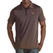 Antigua Men's Northern Iowa Panthers  Purple/Gold Quest Polo