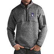 Antigua Men's Northwestern Wildcats Grey Fortune Pullover Jacket
