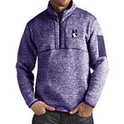 Antigua Men's Northwestern Wildcats Purple Fortune Pullover Jacket