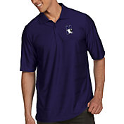 Antigua Men's Northwestern Wildcats Purple Illusion Polo