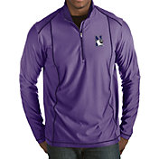 Antigua Men's Northwestern Wildcats Purple Tempo Half-Zip Pullover