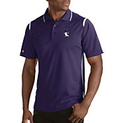 Antigua Men's Northwestern Wildcats Merit Xtra-Lite White Polo