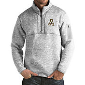 Antigua Men's Appalachian State Mountaineers Grey Fortune Pullover Jacket