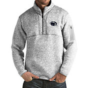 Antigua Men's Penn State Nittany Lions Grey Fortune Pullover Jacket