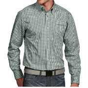 Antigua Men's Oregon Ducks Green Associate Button Down Long Sleeve Shirt