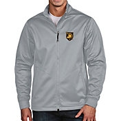 Antigua Men's Army West Point Black Knights Grey Full-Zip Golf Jacket