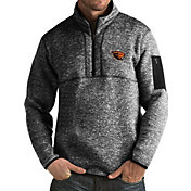 Antigua Men's Oregon State Beavers Black Fortune Pullover Jacket