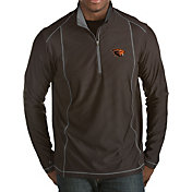 Antigua Men's Oregon State Beavers Black Tempo Half-Zip Pullover
