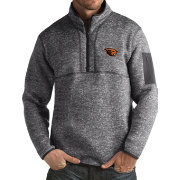 Antigua Men's Oregon State Beavers Grey Fortune Pullover Jacket
