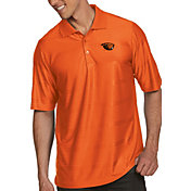 Antigua Men's Oregon State Beavers Orange Illusion Polo