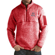Antigua Men's Arizona Wildcats Cardinal Fortune Pullover Jacket