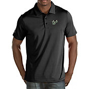 Antigua Men's South Florida Bulls Black Quest Polo