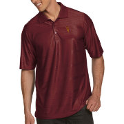 Antigua Men's Arizona State Sun Devils Maroon Illusion Polo