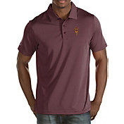 Antigua Men's Arizona State Sun Devils Maroon Quest Polo