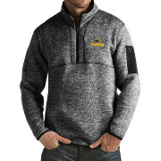 Antigua Men's Southern Miss Golden Eagles Black Fortune Pullover Jacket
