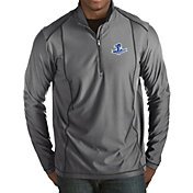 Antigua Men's Seton Hall Seton Hall Pirates Grey Tempo Half-Zip Pullover