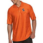 Antigua Men's Syracuse Orange Orange Illusion Polo