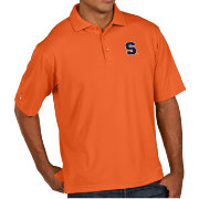 Antigua Men's Syracuse Orange Orange Pique Xtra-Lite Polo