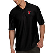 Antigua Men's Utah Utes Black Illusion Polo