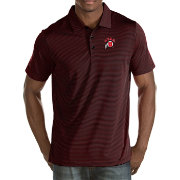 Antigua Men's Utah Utes Black Quest Polo