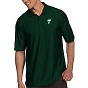 Antigua Men's Tulane Green Wave Olive Illusion Polo