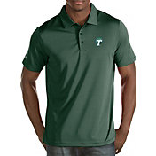 Antigua Men's Tulane Green Wave Olive Quest Polo