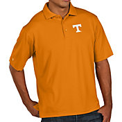 Antigua Men's Tennessee Volunteers Tennessee Orange Pique Xtra-Lite Polo