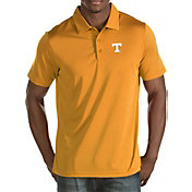 Antigua Men's Tennessee Volunteers Tennessee Orange Quest Polo
