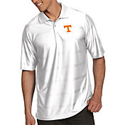 Antigua Men's Tennessee Volunteers White Illusion Polo