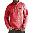 Antigua Men's Texas Tech Red Raiders Red Fortune Pullover Jacket
