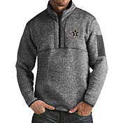Antigua Men's Vanderbilt Commodores Grey Fortune Pullover Jacket
